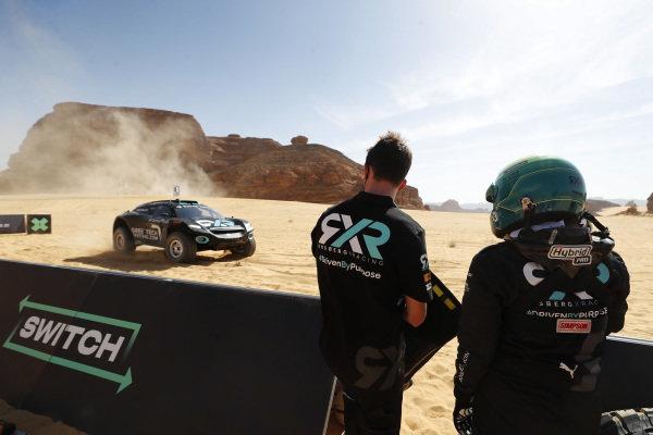 Molly Taylor (AUS)/Johan Kristoffersson (SWE), Rosberg X Racing, driver switch