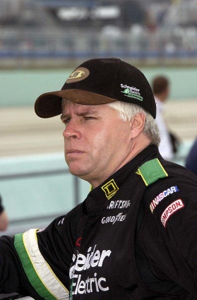 2002 NASCAR Miami, USA November 14-17,2002,Homestead-Miami Motorsports Complex-Bobby Hamilton,-Robt LeSieur2002LAT Photographic