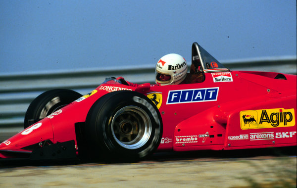 1984 Dutch Grand Prix.Zandvoort, Holland.24-26 August 1984.Rene Arnoux (Ferrari 126C4). 