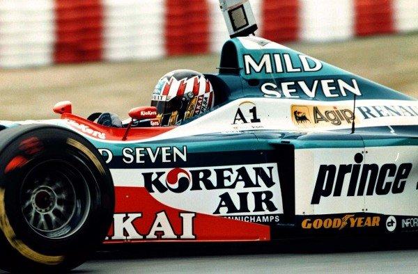 1997 Canadian Grand Prix.Montreal, Quebec, Canada.13-15 June 1997.Alexander Wurz (Benetton B197 Renault).World Copyright - LAT Photographic