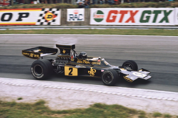 1974 British Grand Prix  Brands Hatch, England. 18-20 July 1974.  Jacky Ickx, Lotus 72E Ford, 3rd position.  Ref: 74GB08. World Copyright: LAT Photographic