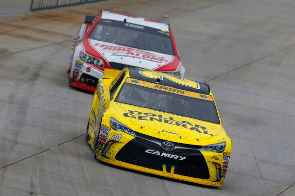 2-4 October, 2015, Dover, Delaware USA Matt Kenseth, Dollar General Toyota Camry and Kasey Kahne ?2015, Russell LaBounty LAT Photo USA