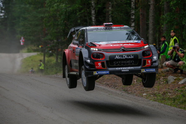 2017 FIA World Rally Championship, Round 09, Rally Finland / July 27 - 30, 2017, Kris Meeke, Citroen WRC, Action  Worldwide Copyright: McKlein/LAT