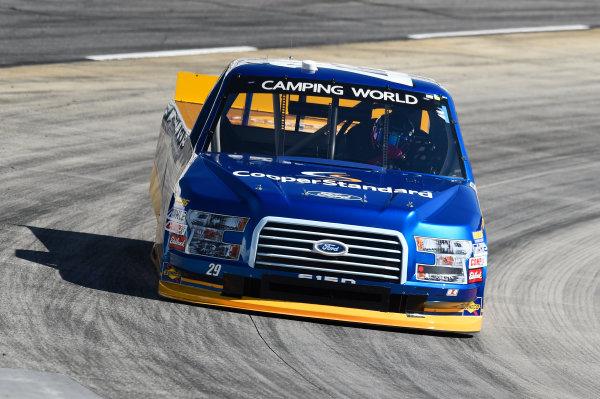 NASCAR Camping World Truck Series Texas Roadhouse 200 Martinsville Speedway, Martinsville VA USA Friday 27 October 2017 Chase Briscoe, Cooper Standard Ford F150 World Copyright: John K Harrelson/LAT Images