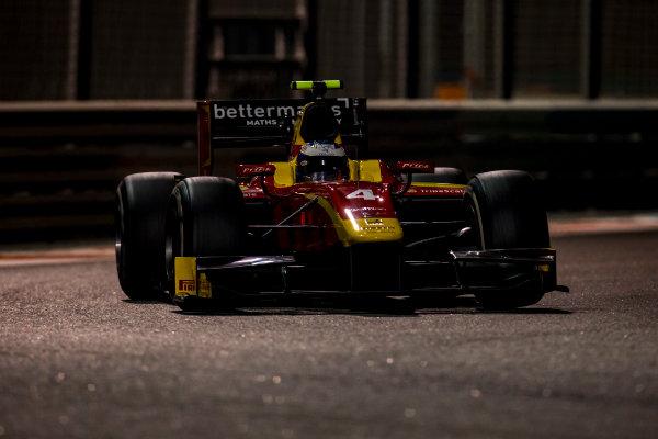 2016 GP2 Series Test 3 Yas Marina Circuit, Abu Dhabi, United Arab Emirates. Friday 2 December 2016. Gustav Malja (SWE, Racing Engineering)  Photo: Zak Mauger/GP2 Series Media Service. ref: Digital Image _L0U4778
