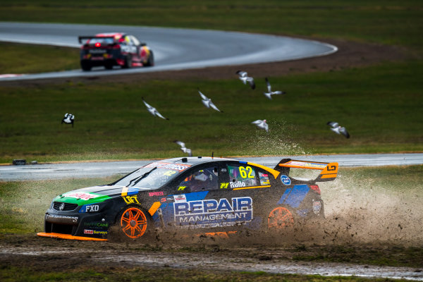 2017 Supercars Championship Round 5.  Winton SuperSprint, Winton Raceway, Victoria, Australia. Friday May 19th to Sunday May 21st 2017. Alex Rullo drives the #62 LD Motorsport Holden Commodore VF. World Copyright: Daniel Kalisz/LAT Images Ref: Digital Image 190517_VASCR5_DKIMG_3370.JPG