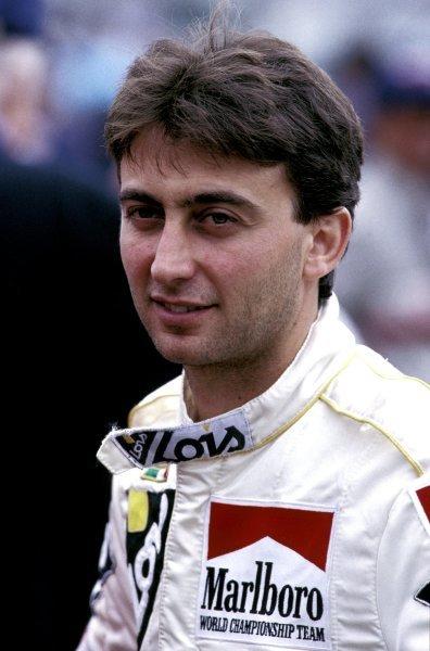 Adrian Campos (ESP), Minardi. Formula One World Championship, Circa 1987.