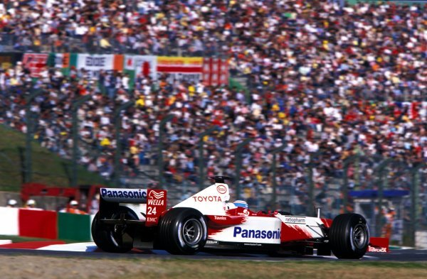 Mika Salo (FIN) Toyota TF102 finished eighth on what is expected to be his final GP.