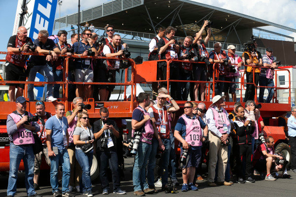 Media at Le Mans