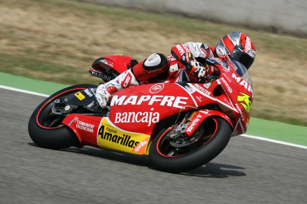 Gran Premio D'Itali Alice.Mugello, Italy. 29th May 2009.Alvaro Bautista Mapfre Aspar Team Aprilia 250cc.World Copyright: Martin Heath/LAT Photographicref: Digital Image BPI_Moto 8hwk