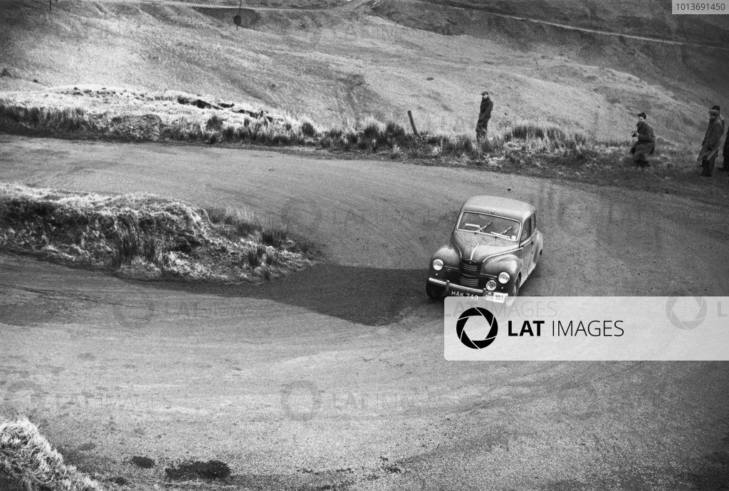 1952 RAC Rally of Great Britain.