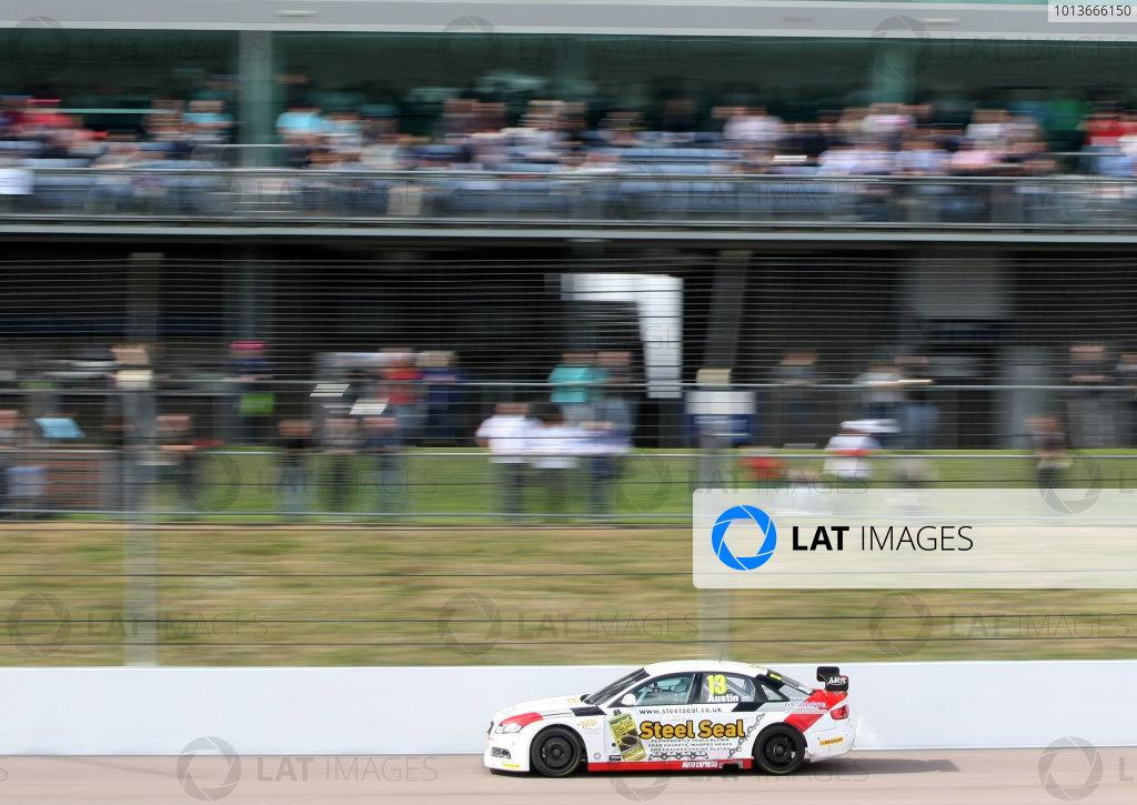 Rockingham, Northamptonshire. 17th - 18th September 2011.Rob Austin (GBR) Rob Austin Racing Audi A4.World Copyright: Ebrey/LAT Photographic.