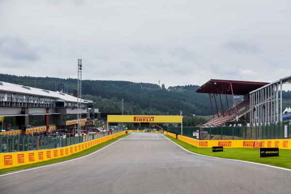 2017 FIA Formula 2 Round 8. Spa-Francorchamps, Spa, Belgium. Thursday 24 August 2017. A view of the track. Photo: Zak Mauger/FIA Formula 2. ref: Digital Image _56I0096