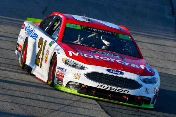 Monster Energy NASCAR Cup Series ISM Connect 300 New Hampshire Motor Speedway Loudon, NH USA Sunday 24 September 2017 Ryan Blaney, Wood Brothers Racing, Motorcraft/Quick Lane Tire & Auto Center Ford Fusion World Copyright: Nigel Kinrade LAT Images