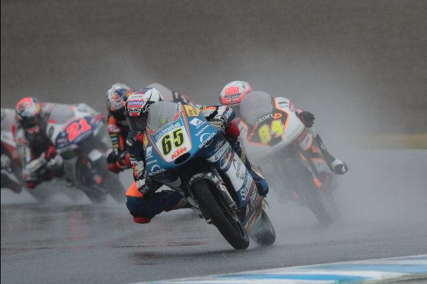 2017 Moto3 Championship - Round 15 Motegi, Japan. Sunday 15 October 2017 Philipp Ottl, Schedl GP Racing World Copyright: Gold and Goose / LAT Images ref: Digital Image 22680