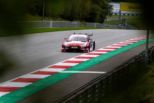 2017 DTM Round 8  Red Bull Ring, Spielberg, Austria  Friday 22 September 2017. Nico Müller, Audi Sport Team Abt Sportsline, Audi RS 5 DTM World Copyright: Alexander Trienitz/LAT Images ref: Digital Image 2017-DTM-RBR-AT2-0824