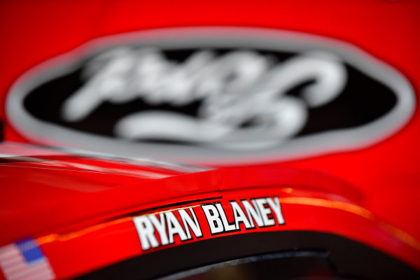 Monster Energy NASCAR Cup Series Tales of the Turtles 400 Chicagoland Speedway, Joliet, IL USA Saturday 16 September 2017 Ryan Blaney, Wood Brothers Racing, Motorcraft/Quick Lane Tire & Auto Center Ford Fusion World Copyright: Logan Whitton LAT Images