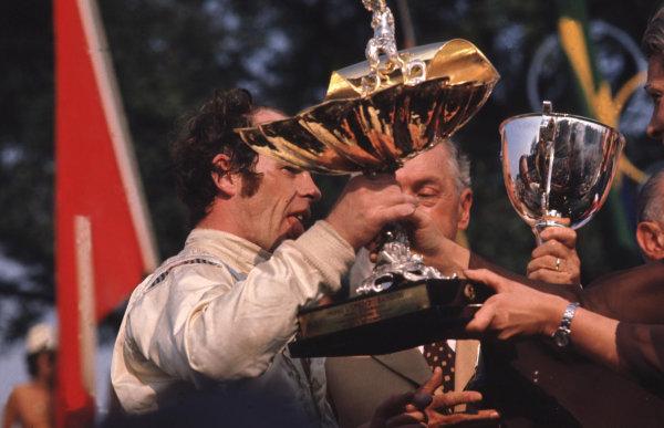 Monza, Italy.3-5 September 1971.Peter Gethin (Team BRM) 1st position.  Ref: 71ITA25. World Copyright - LAT Photographic