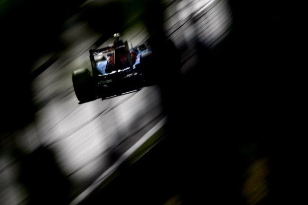 Autodromo Nazionale di Monza, Monza, Italy.9th September 2011.Jaime Alguersuari, Toro Rosso STR6 Ferrari. Action. World Copyright: Andy Hone/LAT Photographicref: Digital Image _SP24005