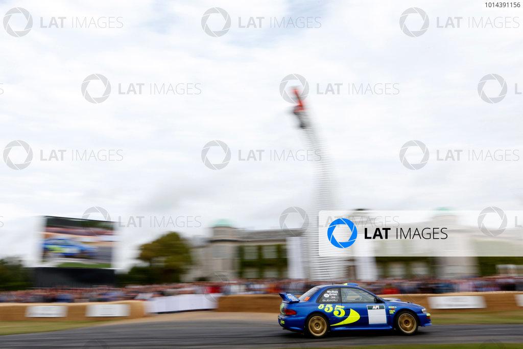 2015 Goodwood Festival of Speed Goodwood Estate, West Sussex, England. 25th - 28th June 2015. James Avis, Subaru Impreza WRC. World Copyright: Alastair Staley/LAT Photographic ref: Digital Image_R6T0932