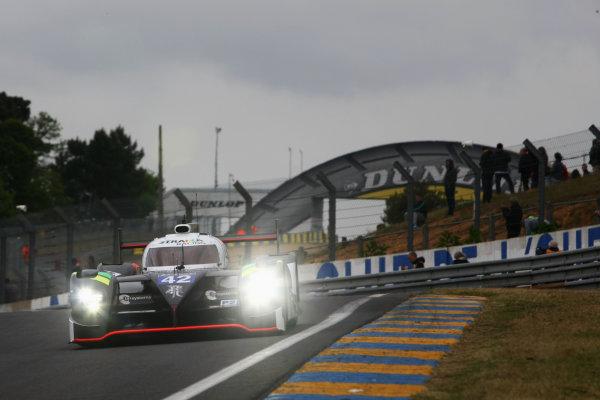 2015 Le Mans 24 Hours Test Day, Le Mans, France. 31st May 2015. Nick Leventis / Danny Watts / Jonny Kane Strakka Racing Strakka Dome S103 Nissan. World Copyright: Ebrey / LAT Photographic.