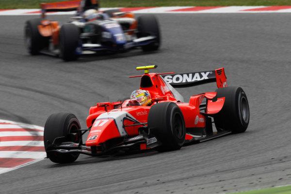 Circuit de Catalunya, Spain. 9th May 2010. Sunday Race.Rodolfo Gonzalez (VEN, Arden International). Action. Photo: Andrew Ferraro/GP2 Media Service.Ref: _Q0C3038 jpg