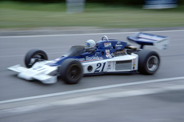 1977 USAC Indycar Series.Mosport Park, Canada. 3rd July 1977.Al Unser sr (Parnelli-Cosworth), 17th position/Retired.World Copyright: Murenbeeld/LAT Photographic