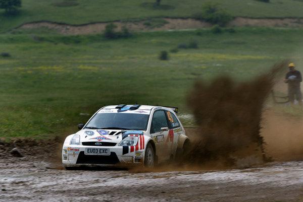 2004 FIA World Rally Champs. Round six, Acropolis Rally.3rd-6th June 2004.Jarri Matti Latvala, Ford Fiesta 1600, action.World Copyright: McKlein/LAT