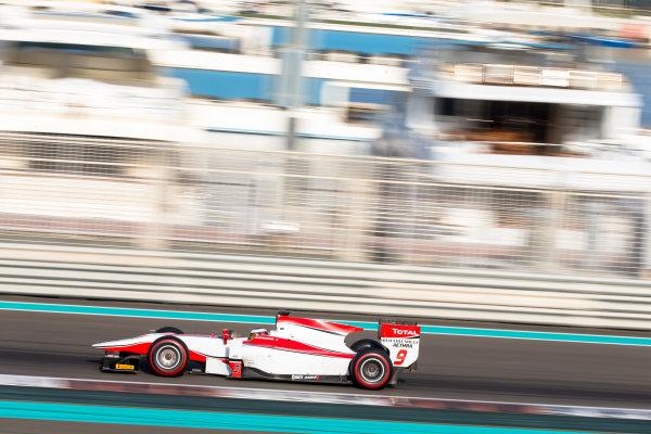 2014 GP2 Series Test 1  Yas Marina Circuit, Abu Dhabi, UAE.  Wednesday 12 March 2014. Stoffel Vandoorne (BEL) ART Grand Prix  Photo: Malcolm Griffiths/GP2 Series Media Service ref: Digital Image F80P5105