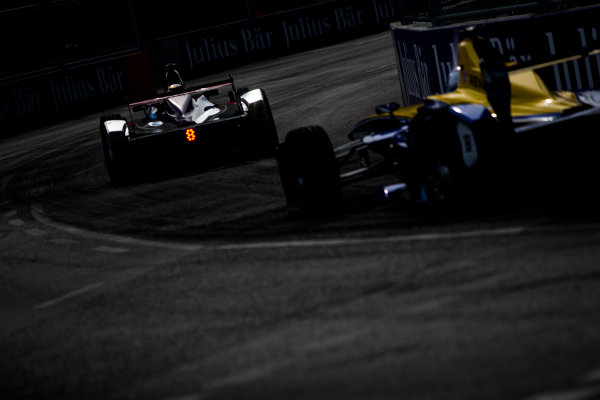 2015/2016 FIA Formula E Championship. Berlin ePrix, Berlin, Germany. Saturday 21 May 2016. Jean-Eric Vergne (FRA), DS Virgin Racing DSV-01   Photo: Zak Mauger/LAT/Formula E ref: Digital Image _L0U2278