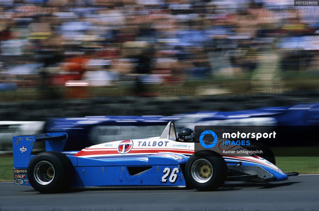 Jacques Laffite, Ligier JS19 Matra.