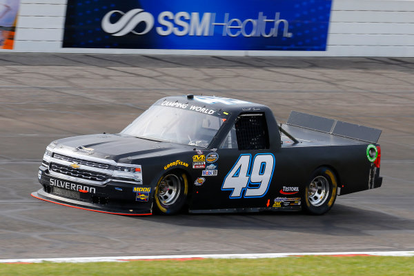 NASCAR Camping World Truck Series Drivin? For Linemen 200 Gateway Motorsports Park, Madison, IL USA Saturday 17 June 2017 Wendell Chavous, TBD Chevrolet Silverado World Copyright: Russell LaBounty LAT Images