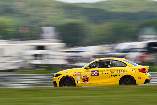 IMSA Continental Tire SportsCar Challenge Lime Rock Park 120 Lime Rock Park, Lakeville, CT USA Friday 21 July 2017 54, BNW, BMW 228i, ST, Michael Johnson, Stephen Simpson World Copyright: Gavin Baker LAT Images
