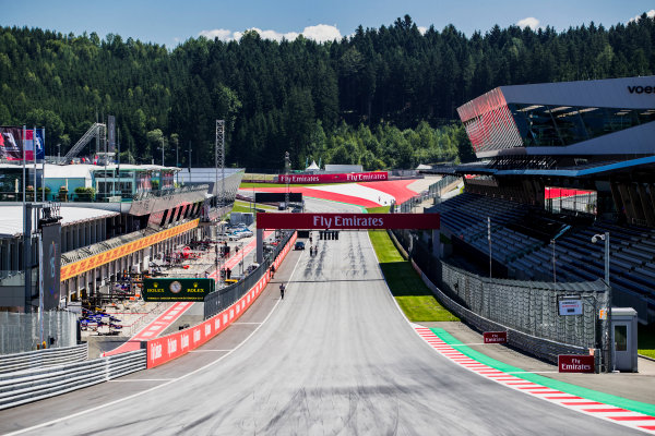 2017 GP3 Series Round 2.  Red Bull Ring, Spielberg, Austria. Thursday 6 July 2017.  Photo: Zak Mauger/GP3 Series Media Service. ref: Digital Image _54I5441