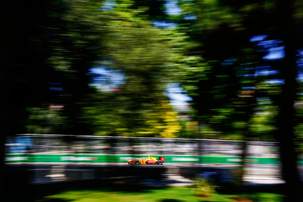 2017 FIA Formula 2 Round 4. Baku City Circuit, Baku, Azerbaijan. Sunday 25 June 2017. Sean Gelael (INA, Pertamina Arden)  Photo: Andy Hone/FIA Formula 2. ref: Digital Image _ONY9914