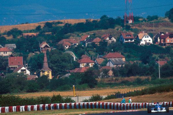 Hungaroring, Hungary.11-13 August 1995.Ukyo Katayama (Tyrrell 023 Yamaha). He exited the race Ref-95 AUT 03.World Copyright - LAT Photographic