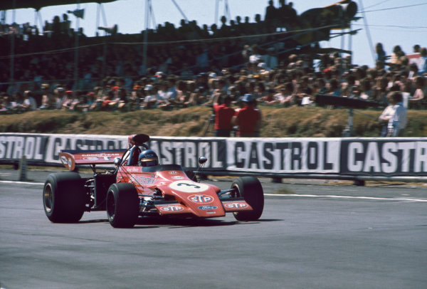 Brands Hatch, England. 13-15th July 1972.  Ronnie Peterson (March 721G Ford), 7th position. Ref: 72GB20. World Copyright: LAT Photographic