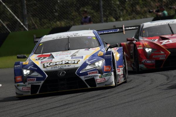 GT500 3rd position Ryo Hirakawa & Nick Cassidy ( #37 KeePer TOM'S LC500 )