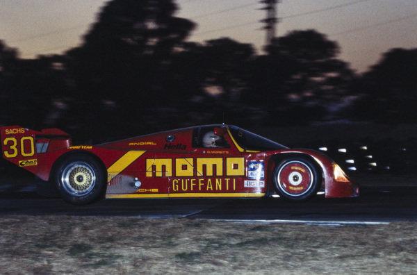 Massimo Sigala / Gianpiero Moretti / Michael Roe / Derek Bell, Momo/Gebhardt Racing, Porsche 962.