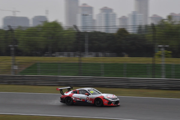 Daniel LU Wenlong (CHN) Porsche China Junior Team at Porsche Carrera Cup Asia, Shanghai, China, 13-15 April 2018.