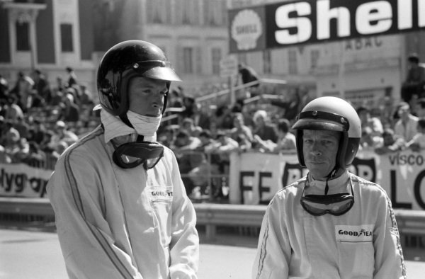 Dan Gurney and Richie Ginther.