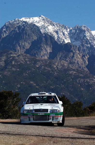 2002 World Rally ChampionshipInmarsat Corsica Rally, 8th-10th March 2002.Toni Grademeister during shakedown.Photo: Ralph Hardwick/LAT