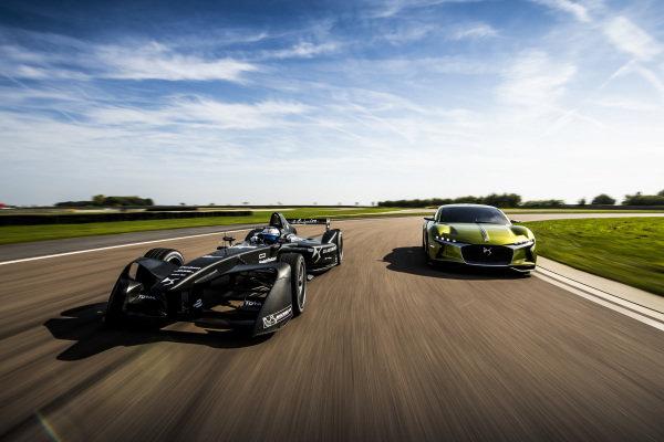 Formula E DS Racing pre season filming day.