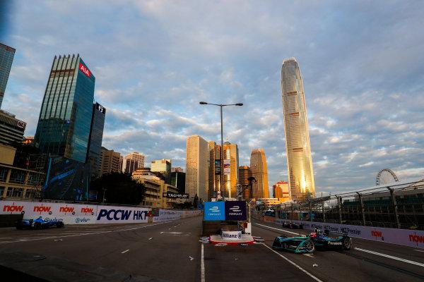 2017/2018 FIA Formula E Championship. Round 1 - Hong Kong, China. Saturday 02 December 2017. Mitch Evans (NZL), Panasonic Jaguar Racing, Jaguar I-Type II. Photo: Sam Bloxham/LAT/Formula E ref: Digital Image _J6I3828