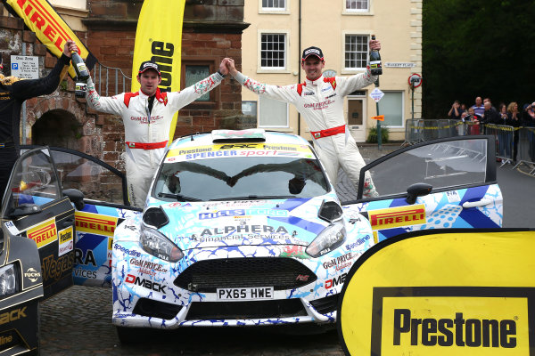 2017 Prestone MSA British Rally Championship,  Pirelli International Rally, Carlisle. 29th - 30th April 2017. Osian Pryce / Dale Furniss Ford Fiesta R5. World Copyright: JEP / LAT Images.
