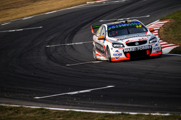 2017 Supercars Championship Round 2.  Tasmania SuperSprint, Simmons Plains Raceway, Tasmania, Australia. Friday April 7th to Sunday April 9th 2017. Tim Slade drives the #14 Freightliner Racing Holden Commodore VF. World Copyright: Daniel Kalisz/LAT Images Ref: Digital Image 070417_VASCR2_DKIMG_1513.JPG