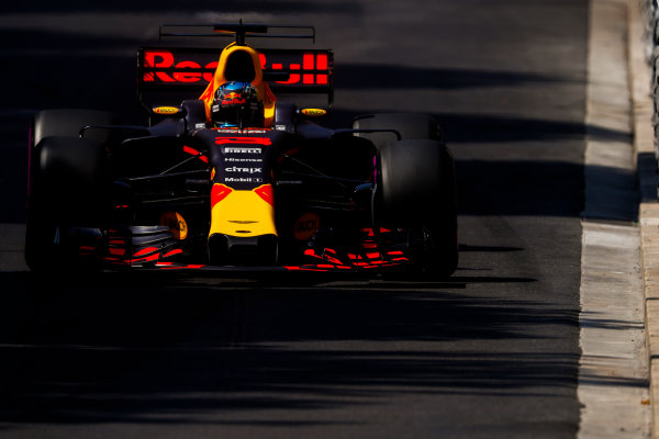 Monte Carlo, Monaco. Saturday 27 May 2017. Daniel Ricciardo, Red Bull Racing RB13 TAG Heuer. World Copyright: Glenn Dunbar/LAT Images ref: Digital Image _X4I8628