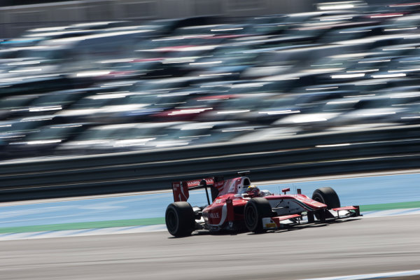 2017 FIA Formula 2 Round 10. Circuito de Jerez, Jerez, Spain. Sunday 8 October 2017. Charles Leclerc (MCO, PREMA Racing).  Photo: Andrew Ferraro/FIA Formula 2. ref: Digital Image _FER3484
