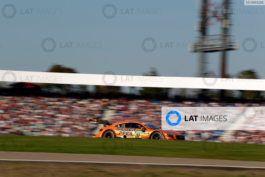 2017 DTM Round 9  Hockenheimring, Germany  Sunday 15 October 2017. Maro Engel, Mercedes-AMG Team HWA, Mercedes-AMG C63 DTM  World Copyright: Alexander Trienitz/LAT Images ref: Digital Image 2017-DTM-HH2-AT2-1797