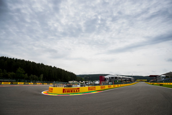 2017 FIA Formula 2 Round 8. Spa-Francorchamps, Spa, Belgium. Thursday 24 August 2017. A view of the track. Photo: Zak Mauger/FIA Formula 2. ref: Digital Image _54I9489